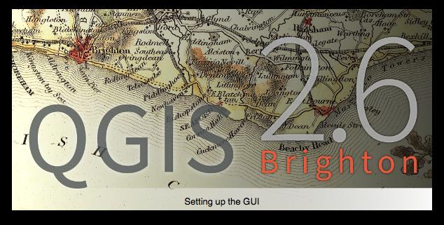 "QGIS 2.6 ""Brighton"" splash screen"